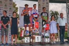 MSR juniori a U23, cestné preteky, Bánovce, 16.8.2020